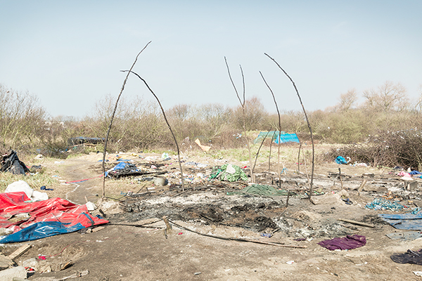 Calais-The Jungle